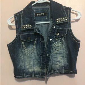 Rue 21 studded vest